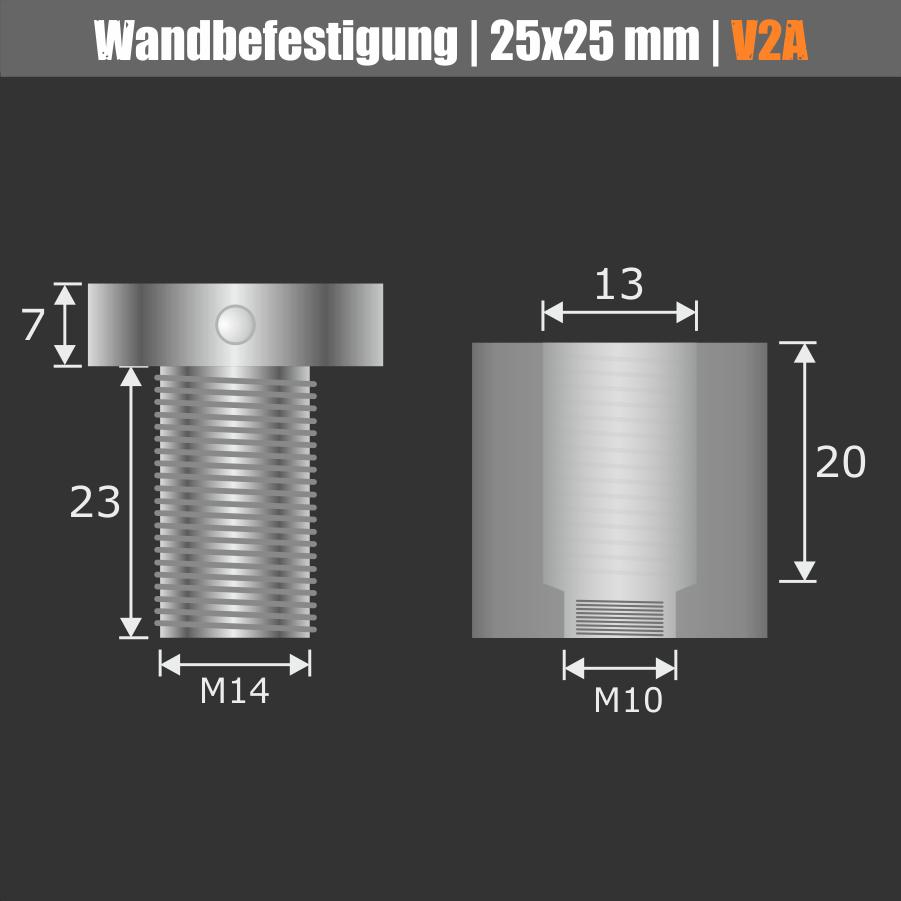 Stockschraube M10x80mm verzinkt Torx 25