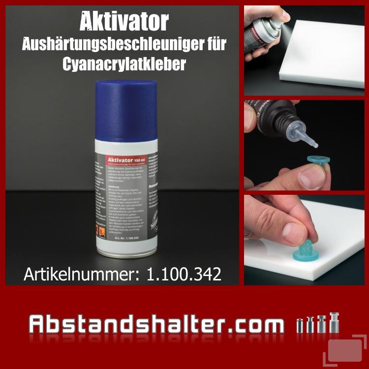 Aktivator 150 ml | Aushärtungsbeschleuniger für Cyanacrylat-Kleber