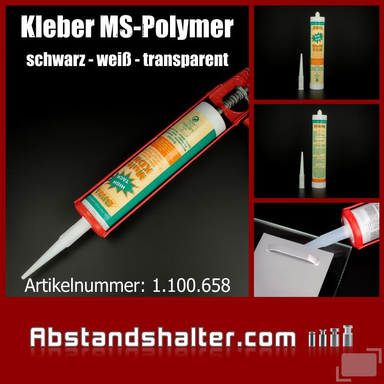 Universalkleber Alleskleber Karosseriekleber Dichtmasse MS Polymer Montagekleber Silikonfrei 280ml