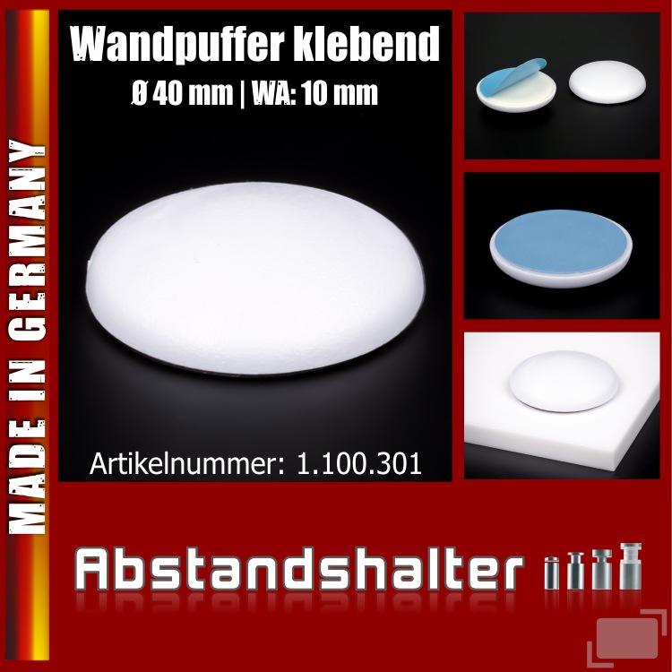 1-100 xTürpuffer 40 mm Türstopper klebend Gummi WC Deckel Anschlagpuffer Stopper