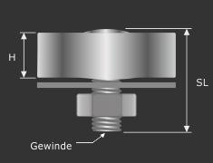 Draht-Seilklemme Seilverbinder Seilabhängung