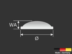 Wand-Puffer Gummi