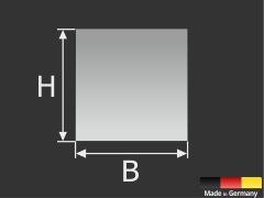 Haftblech 70x70 mm