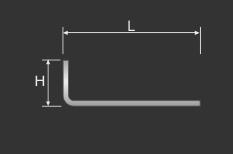 Inbusschlüssel 2 mm für Innensechskantschrauben Madenschrauben