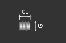 Madenschraube M4 x 3 mm | Sechskantschraube