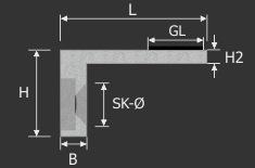 Scheibensicherung - Halteboden Glashalter