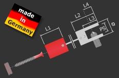 Deckenhalter Messing poliert Ø 20 x 20 mm Länge: 25 mm | chrom