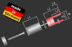 Plattenhalter Edelstahl für Seilbefestigung Ø 11 mm PS: 3-6 mm | V2A