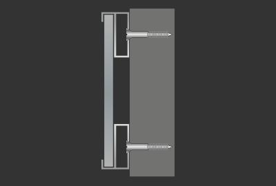 Anleitung Spiegelklammer Plattenklammer montieren