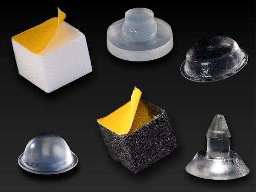 ab 0 17 euro gummipuffer kaufen gumminoppen 16 mm gummi puffer glasplatten glas tische. Black Bedroom Furniture Sets. Home Design Ideas