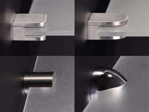 glasbodenhalter regalhalter edelstahl messing alles f r die. Black Bedroom Furniture Sets. Home Design Ideas
