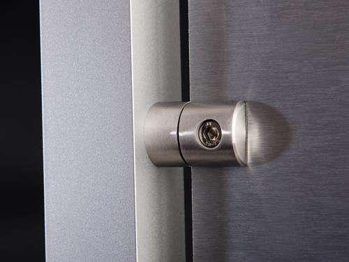 blechhalter aus edelstahl v2a zur plattenmontage www. Black Bedroom Furniture Sets. Home Design Ideas
