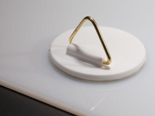 ab 0 68 euro set bildaufh nger kaufen bild haken aufh nger 40 mm selbstklebend mit. Black Bedroom Furniture Sets. Home Design Ideas