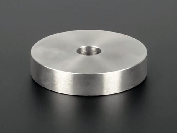 Distanzscheibe M10 Distanzhülse Edelstahl Ø50mm WA:10mm L-Ø:10,5mm V2A