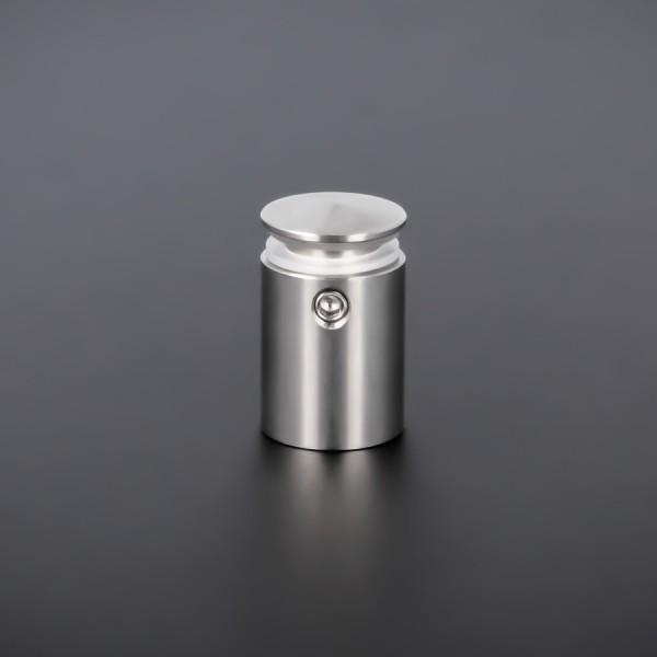 Plexiglasbefestigung Edelstahl Ø 15 mm WA:18,5mm PS:1,5-12 mm | Kragen