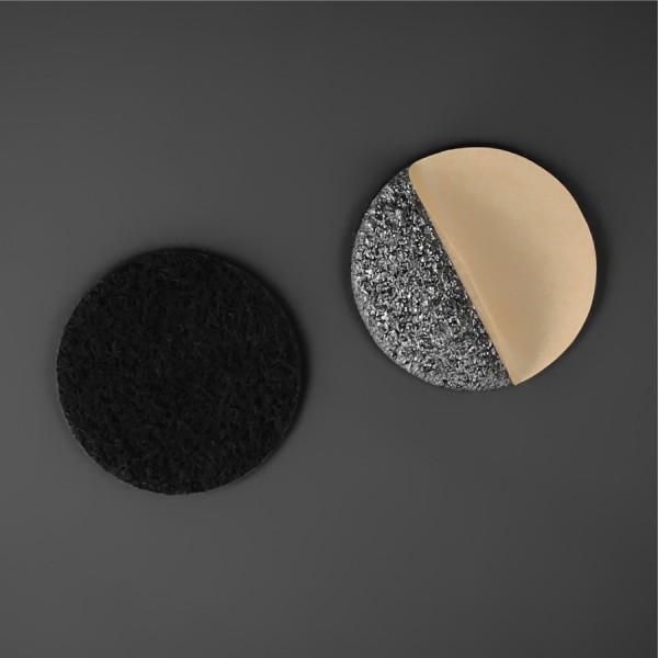 Filzgleiter Ø38 mm rund selbstklebend Möbelgleiter 3mm Stärke schwarz
