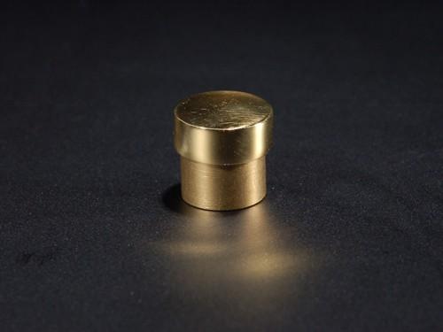 Befestigung Messing pol. zaponiert Gold Ø 14 mm WA: 8 mm PS: variabel