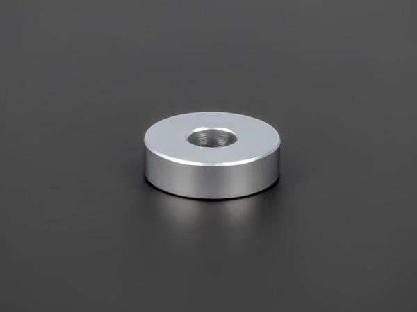 Distanzröhrchen Edelstahl matt Ø 18 mm WA: 5 mm L-Ø: 6,5 mm   Silber