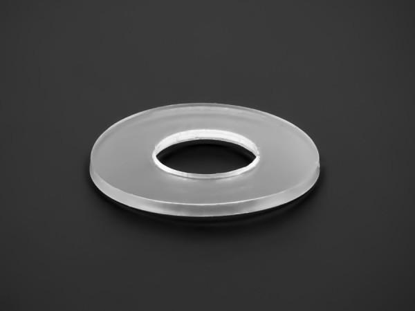 Unterlegscheibe weich PVC klar Ø 39 mm Innen-Ø: 16,5 mm Bundhöhe: 2 mm