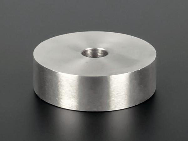 Distanzscheibe | Distanzring Edelstahl Ø50mm WA:15mm L-Ø: 10,5mm | V2A