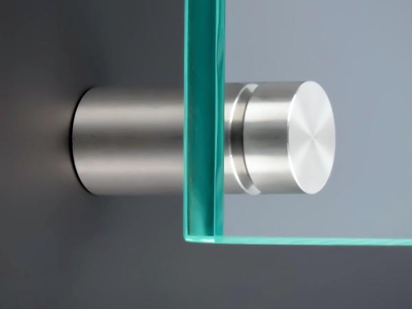 Schilderbefestigung Edelstahl Ø 15x20mm Schilderhalter PS: variabel