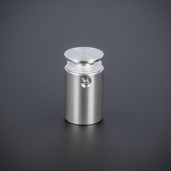 Abstandshalter rund Edelstahl V2A Ø 15 mm WA: 20 mm PS: 2-17 mm