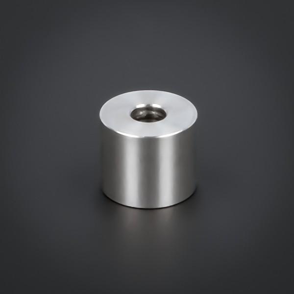Distanz-Rolle M6 Abstandsrolle Edelstahl Ø18x15mm L-Ø:6,5mm Hülse V2A