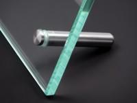 Tischaufsteller Edelstahl V2A Ø 8 mm Länge: 40 mm PS: 1-16 mm | klein