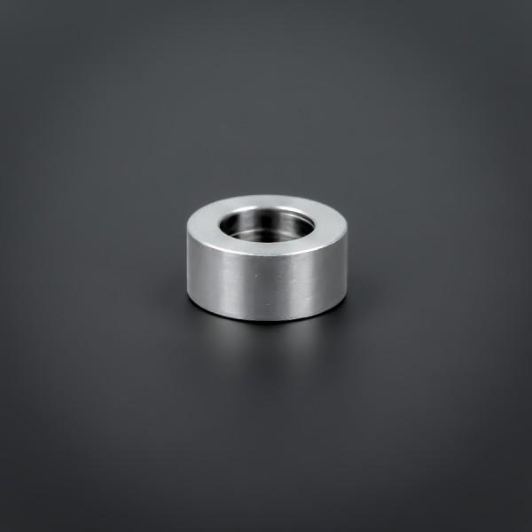 Distanz-Ring M10 Edelstahl Ø 18 mm WA: 8 mm Loch-Ø: 10,5 mm | V2A