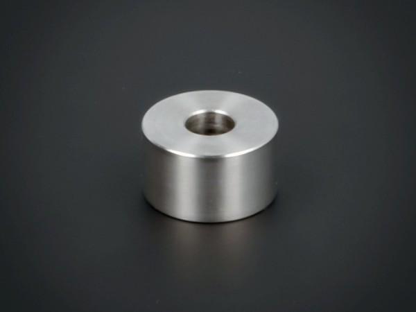 Abstandsring | Distanzring Edelstahl Ø 18x10 mm L-Ø: 6,5 mm | V2A