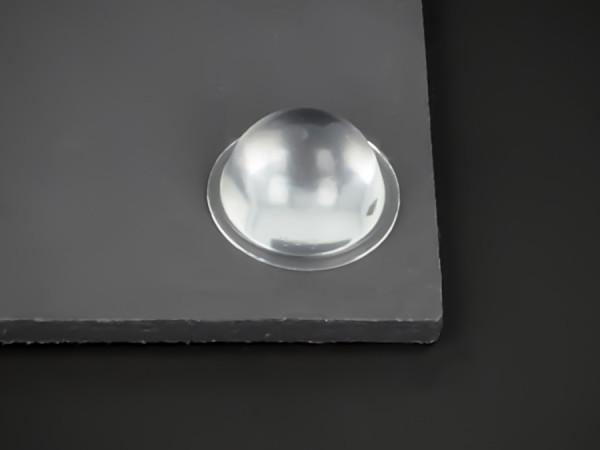 Wand-Puffer Ø 19 mm selbstklebend, WA 9,5 mm, Weich-PVC Gummi | klar