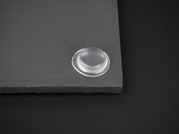 Anschlag-Puffer Gummi selbstklebend Ø 12,7mm WA: 3,5mm | Möbel | Türen