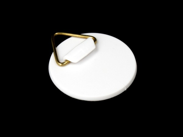 Bilder-Haken | Bild-Aufhänger Ø 40 mm selbstklebend | Messing-Öse