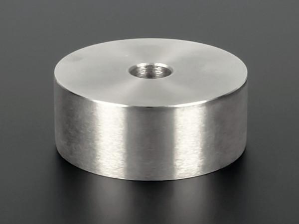 Distanzscheibe | Distanzrohr Edelstahl Ø 50mm WA: 20mm L-Ø: 10,5mm | V2A