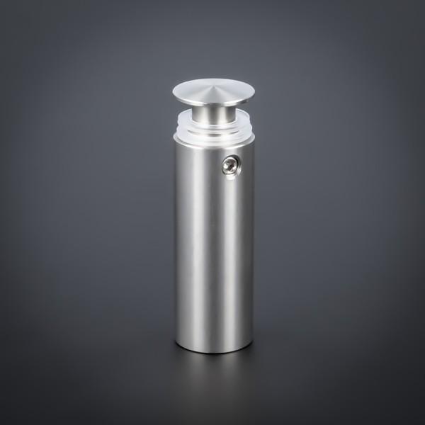 Edelstahlabstandhalter V2A angesch. Kragen Ø 15mm WA: 40mm PS: 2-15mm