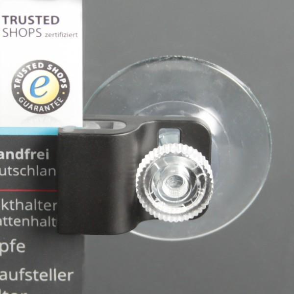 Parkausweis Karten-Halter mit Saugnapf+Mutter für Auto-Scheibe Gripper