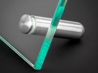 Tischaufsteller Edelstahl Ø 12mm Länge: 40mm PS: 1-16mm Schildhalter
