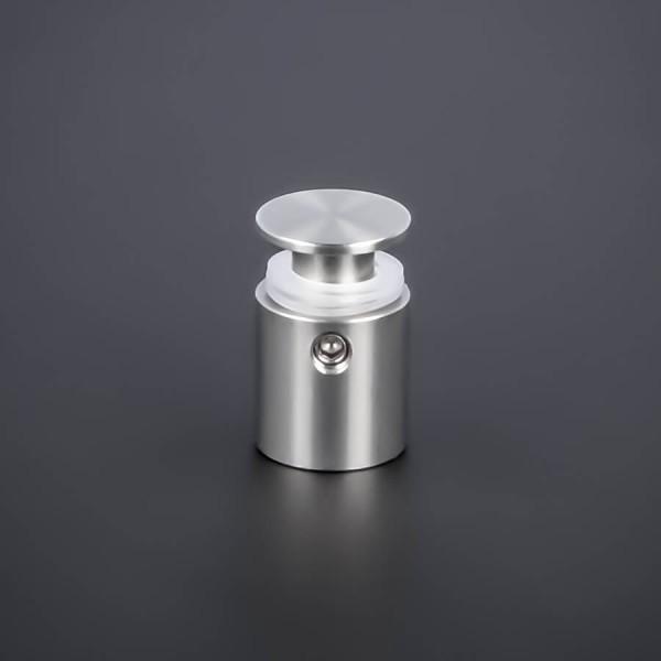 Edelstahl Abstandshalter V2A Ø 15 mm WA: 15 mm PS: 3-12 mm | Halter