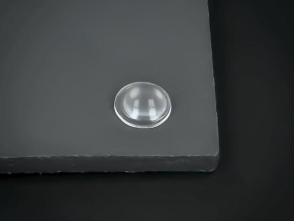 Elastik-Puffer klebend Ø 8mm WA: 2,5mm für Glasplatten | Möbel | Glas