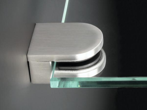 Glashalter+Stift Ablagenhalter Edelstahl 36x29mm PS:4-8mm Wandmontage
