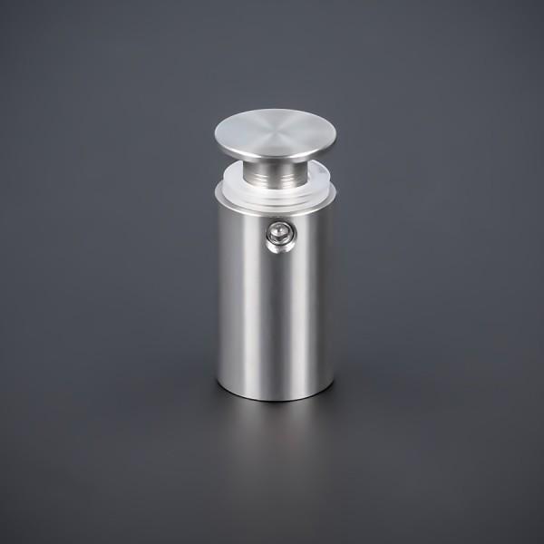Abstandhalter Werbeschild-Befestigung V2A Ø 15 mm WA:25 mm PS: 1-17 mm