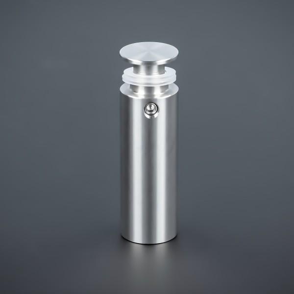 Abstandhalter Schilder Edelstahl Ø 15 mm WA: 40 mm PS: 2-16 mm Kragen