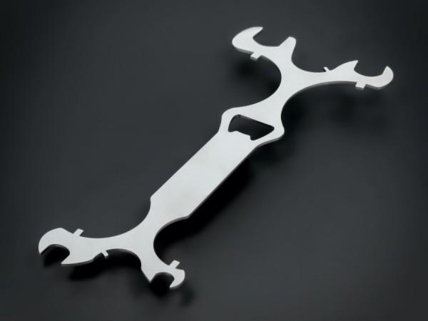 Montage-Haken-Schlüssel für Punkthalter Ø 25-30-40-50-60-70 mm | V2A