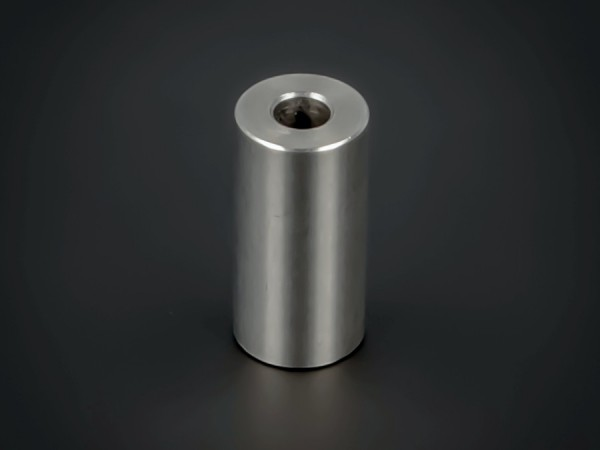 Distanzhülse Abstandsrolle Edelstahl Ø 10mm WA: 20mm L-Ø: 4,1mm | V2A