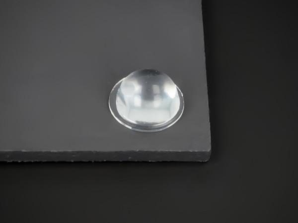 Bumpon Elastik-Wand-Puffer transparent selbstklebend Ø 16 mm WA 8 mm