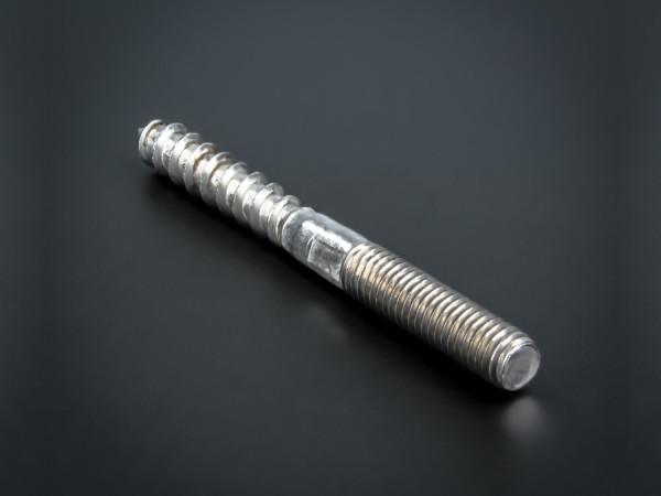 Stockschraube Edelstahl V2A mit Schlüsselfläche M8 x 80 mm