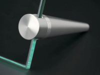 Bild | Foto Aufsteller Edelstahl für Glas Plexiglas Ø 18 mm PS: 2-6