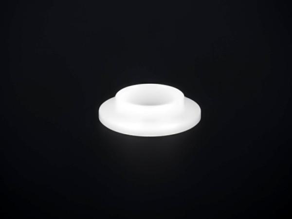 Isolierhülse Bund M8 Glas Ø14,5mm I-Ø:8,1mm PB:10mm BH:2mm AH:1,5mm